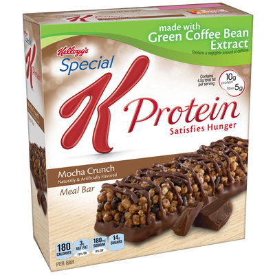 Kellogg's® Special K® Protein Mocha Crunch Meal Bars 5 ct Box