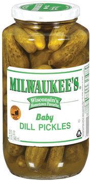 Milwaukee's Baby Dill Pickles 32 Fl Oz Jar