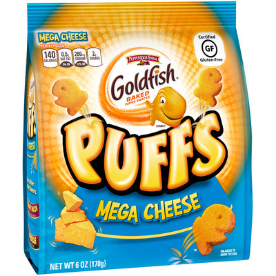 Pepperidge Farm® Goldfish® Xtreme® Puffs Mega Cheese Baked Puffed Snacks 6 oz. Pack