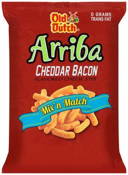 Old Dutch® Arriba® Cheddar Bacon Flavored Cheese Stix 8 oz. Bag