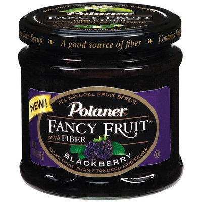 Polaner Preserves Blackberry Fancy Fruit 12 Oz Jar