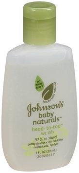 Johnson's® Baby Naturals  Head-to-Toe Wash