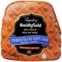 Smithfield® Deli Meats Canadian Brand Maple Ham