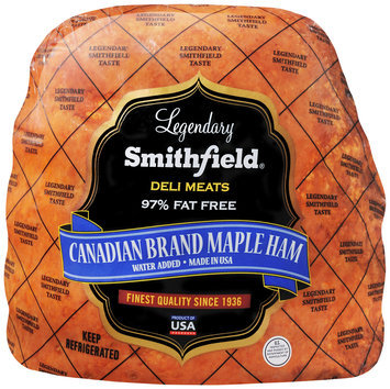 Smithfield® Deli Meats Canadian Brand Maple Ham