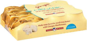 Giorgio Organic Sliced Mushrooms 12-4 oz. Cans