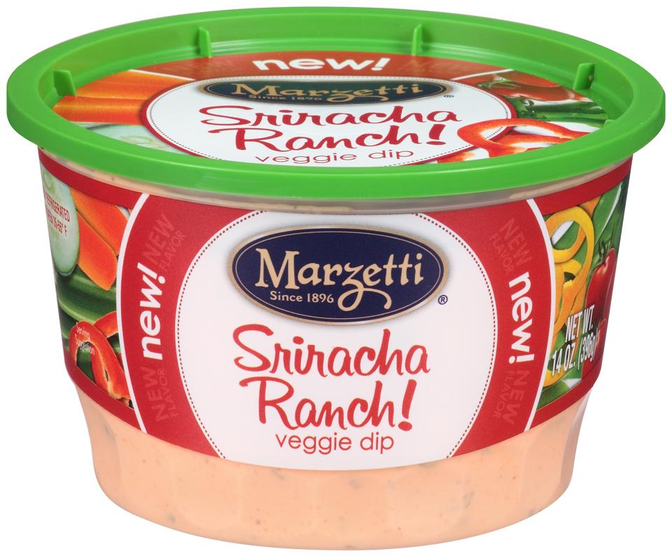 Marzetti® Sriracha Ranch! Veggie Dip