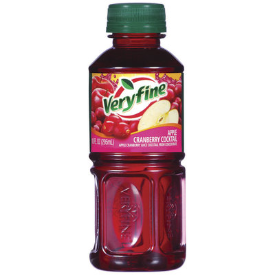 Veryfine from Concentrate Apple Cranberry Cocktail 10 Oz Glass Bottle