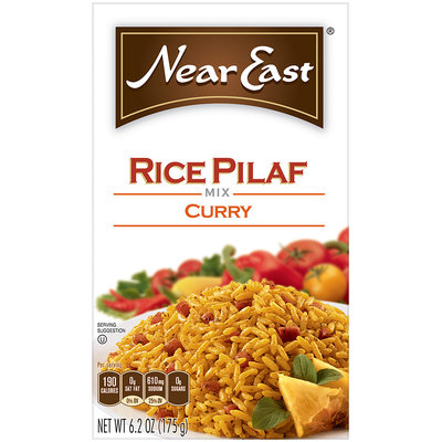 Near East Curry Rice Pilaf Mix 6.25 Oz Box