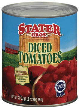 Stater Bros. Diced Tomatoes 28 Oz Can
