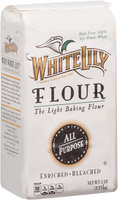 White Lily® All-Purpose Pre-Sifted Enriched Bleached Flour 5 lb. Bag