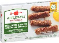 Applegate Naturals® Gluten-Free Chicken & Sage Breakfast Sausage 7 oz. Box