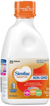 Similac® Sensitive® OptiGRO™ Infant Formula with Iron 32 fl. oz. Plastic Bottle
