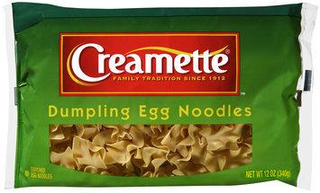 Creamette® Dumpling Egg Noodles 12 oz. Bag