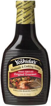 MR. YOSHIDA'S Original Gourmet Sweet Teriyaki Marinade & Cooking Sauce 17 OZ PLASTIC BOTTLE