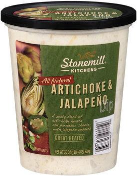 Stonemill® Kitchens All Natural Artichoke & Jalapeno Dip 30 oz. Tub