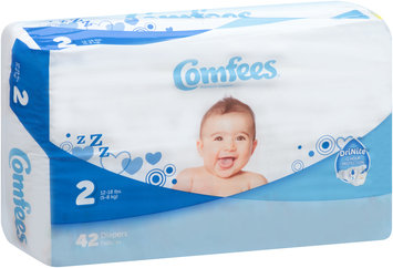 CMF-2 Comfees® Baby Diapers Size 2, 42 count
