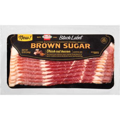 Hormel Black Label® Brown Sugar Thick Cut Bacon 12 oz. Pack