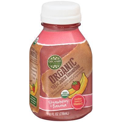Orchard Fusion™ Organic Strawberry + Banana 100% Juice Smoothie 8 fl. oz. Bottle