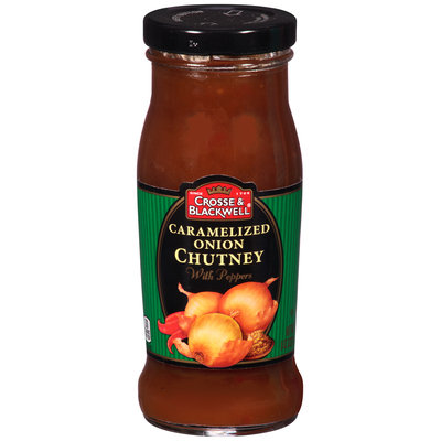 Crosse & Blackwell® Caramelized Onion Chutney with Peppers 8 oz. Bottle
