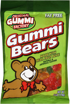 Original Gummi Factory™ Gummi Bears 6 oz. Bag