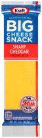 Kraft Sharp Cheddar Big Cheese Snack 2 oz. Wrapper