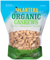 Planters Organic Cashews Pouch