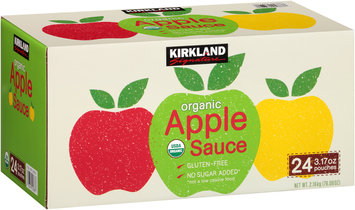 Kirkland Signature™ Organic Apple Sauce 24-3.17 oz. Pouches