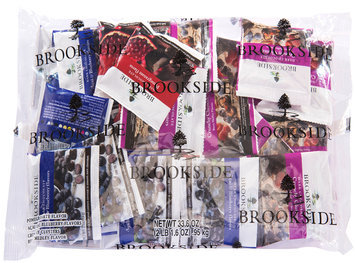 Brookside Dark Chocolate and Crunchy Clusters Snack Assortment 33.6 oz. Bag