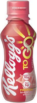 Kellogg's® To Go™ Strawberry Protein Breakfast Shake 10 fl. oz. Bottle