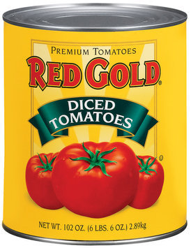 Red Gold Diced Tomatoes 102 Oz Can