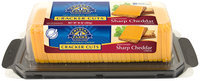 Crystal Farms® Cracker Cuts Wisconsin Sharp Cheddar Cheese 10 oz. Brick