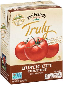 Dei Fratelli Truly™ Rustic Cut Tomatoes in a Light Puree 26.46 oz. Carton