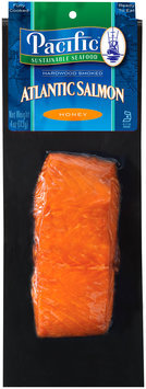Pacific Sustainable Seafood™ Honey Hardwood Smoked Atlantic Salmon 4 oz. Pack