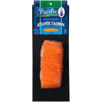 Pacific Sustainable Seafood™ Honey Hardwood Smoked Atlantic Salmon 4 oz. Pack