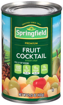 Springfield® Fruit Cocktail in Heavy Syrup 15.25 oz. Can