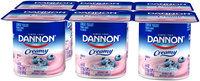 Dannon® Creamy Blueberry Lowfat Yogurt