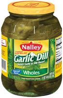 Nalley Garlic Dill Wholes Pickles 46 Oz Jar