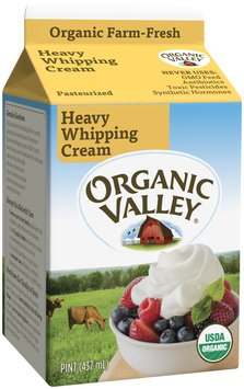 Organic Valley® Organic Pasteurized Heavy Whipping Cream