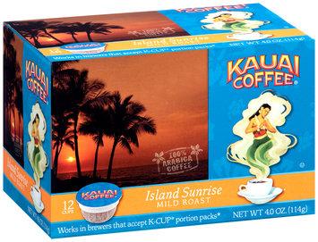 Kauai Coffee® Island Sunrise Mild Roast Single Serve Cups 12 ct Box