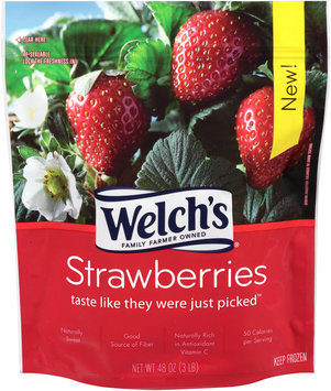 Welch's Strawberries 48 oz. Stand-Up Bag