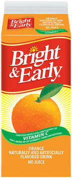 Bright & Early® Orange Flavored Drink 59 fl. oz. Carton