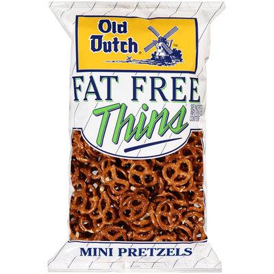 Old Dutch® Fat Free Thins Mini Pretzels 15 oz. Bag