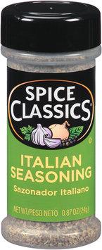 Spice Classics® Italian Seasoning 0.87 oz. Shaker