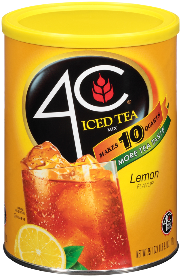 4C® Lemon Iced Tea Mix