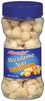 Schnucks Dry Roasted Macadamia Nuts 6.5 Oz Plastic Jar