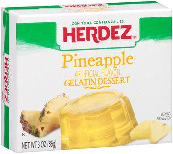 Herdez™ Pineapple Gelatin Dessert 3 oz. Box