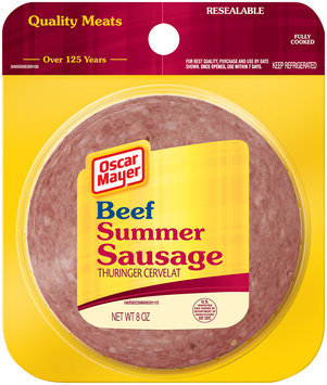 Oscar Mayer Cold Cuts Beef Summer Sausage