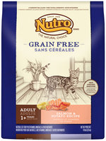 Nutro® Grain Free Adult Salmon & Potato Recipe Cat Food 14 lb. Bag