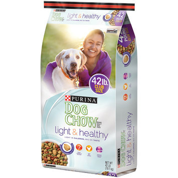 Purina Dog Chow Light & Healthy Adult Dog Food 42 lb. Bag
