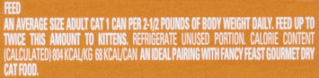 Purina Fancy Feast Gravy Lovers Chicken Hearts & Liver Feast in Grilled Chicken Flavor Gravy Cat Food 3 oz. Can
